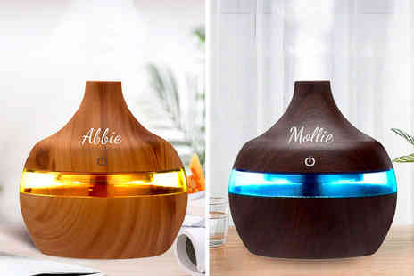 Magic Trend - Personalised wooden aroma humidifier - Save 0%