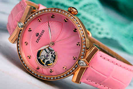 Empress Watches - Ladies luxury Edith collection automatic watch - Save 80%