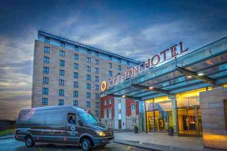 Clayton Hotel Manchester Airport - A Manchester stay for two people with breakfast - Save 29%