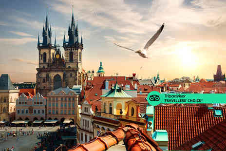 Cheap Cost Travel - A Prague, Czech Republic hotel stay with return flights - Save 0%