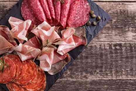 The Lobby on Hill Street - Charcuterie sharing board for two people - Save 20%