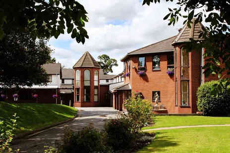 Beaufort Park Hotel - A Mold, North Wales stay for two with two course dinner and breakfast - Save 35%