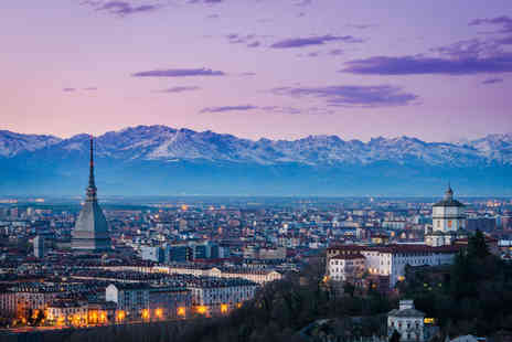 Weekender Breaks - A Turin, Italy hotel stay with return flights - Save 19%