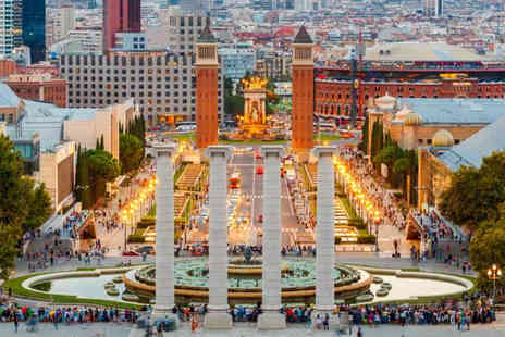 Crystal Travel - A Barcelona, Spain stay with return flights - Save 46%