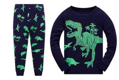 Groupon Goods Global GmbH - Kids Dinosaur Pyjamas Set - Save 65%