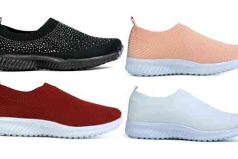 Groupon Goods Global GmbH - Womens Casual Slip On Trainers - Save 0%