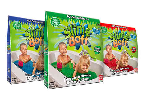 Avant Garde Brands - 300g of Slime Baff kids bath powder - Save 42%