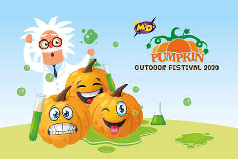 M & Ds Theme Park - Entry to a Pumpkin Outdoor Festival 2020 plus access to Amazonia and a round of adventure golf - Save 53%