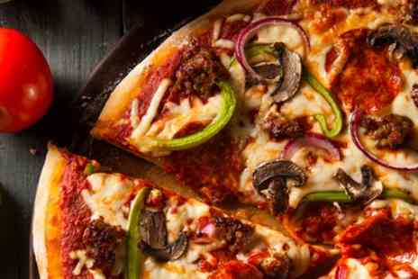 Auntie Annes Belfast & Bangor - Pizza and Drink for Up to Four - Save 31%