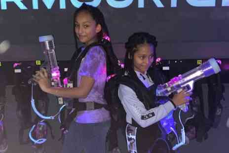 Laser Quest Enfield - Two Games of Laser Tag for Four or Six - Save 34%