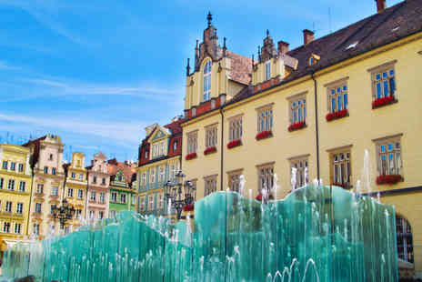 Weekender Breaks - A Wroclaw, Poland stay with return flights - Save 23%