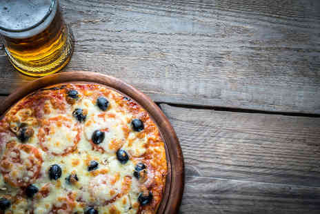 Ladbrooke Hote - Pizza and beer dining for two people - Save 56%