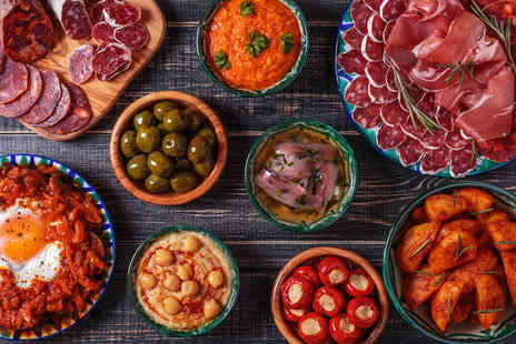 Salvador & Amanda - Four tapas dishes, churros and a jug of sangria for two people - Save 57%