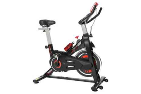Groupon Goods Global GmbH - Exercise Spin Bike 8kg Flywheel With Free Delivery - Save 47%