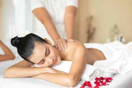 Beauty By Fabi - Back, Neck and Shoulder Massage with Optional Express or LED Light Facial - Save 50%