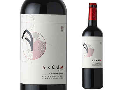 Monsoon Wine & Spirits - 6 or 12 Bottles of Botella Arco de Curiel Wine - Save 23%