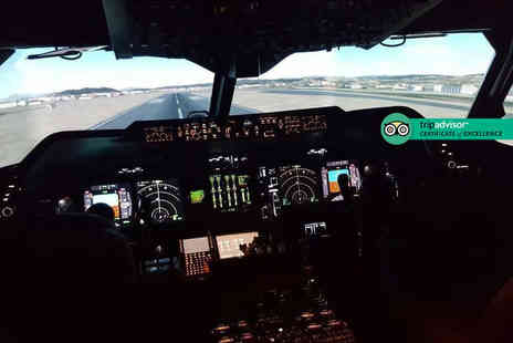 Flight Simulators Midlands - Boeing 737 or Airbus A320 flight simulation experience - Save 40%