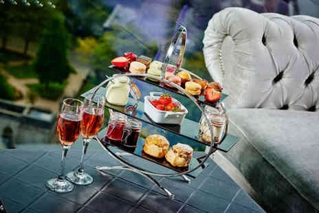 Black and White Hospitality -Traditional afternoon tea for two people - Save 32%