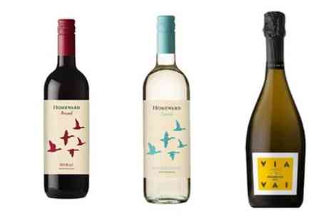 Great Western Wine - Up to 50% Off Choice of Six or Twelve Bottles of Wine - Save 0%