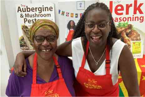 Tan Rosie Caribbean Cookery School - Zoom Caribbean Cookery Masterclass for Two - Save 0%