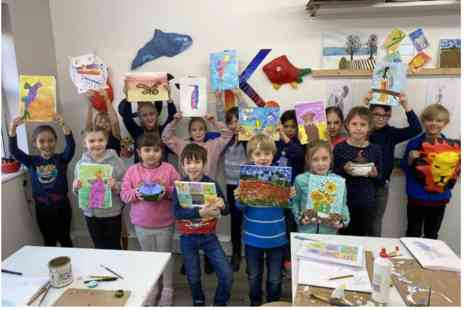 Virgin Experience Days - Childrens Introductory Art Class with Art-K - Save %
