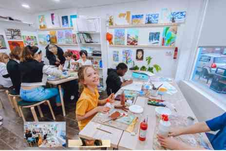 Virgin Experience Days - Childrens Two Hour Art Workshop with Art-K - Save 0%