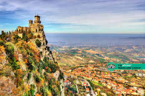 Weekender Breaks - A San Marino & Rimini, Italy stay with return flights from three airports - Save 38%