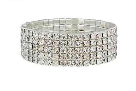 Your Ideal Gift - Five row tennis bracelet - Save 90%