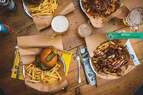 Yard & Coop - £30 voucher to spend towards American dining and drinks for two people - Save 33%