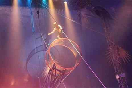 Santus Circus - Front Tier Ticket - Save 47%