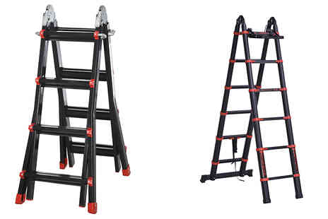 Mhstar - Aluminium Extendable Ladder - Save 10%