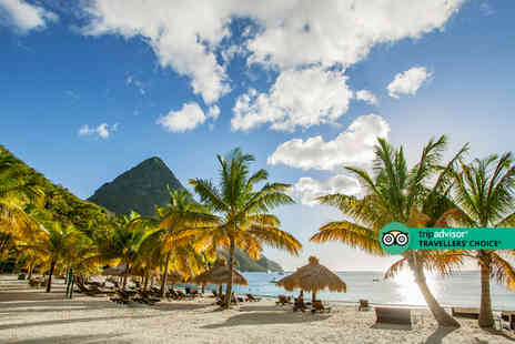 Weekender Breaks - An all inclusive St Lucia, Caribbean hotel stay with return flights - Save 24%