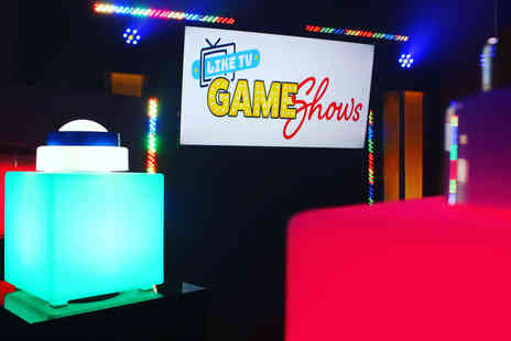Like TV Game Shows - TV family game show family experience for up to six - Save 37%