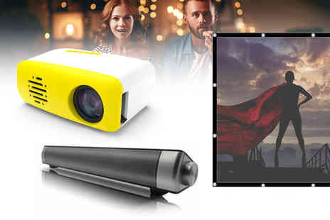 WhoGotThePlan - Mini LED smart home projector - Save 0%