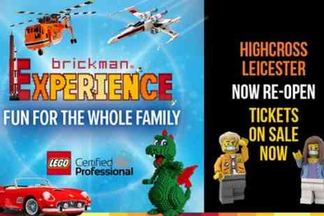 LEGO The Brickman Experience - LEGO Brick Exhibition Experience - Save 33%