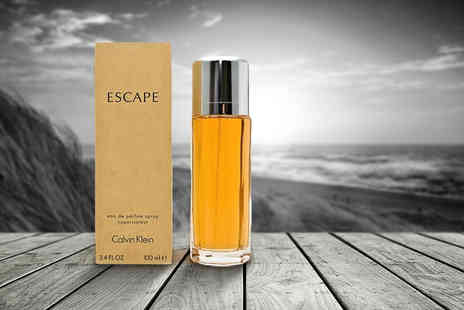 Bright Retail - 100ml bottle of Calvin Klein Escape eau de parfum spray - Save 10%