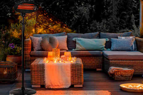 Home Empire - Black electric patio heater - Save 70%
