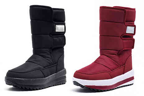 MBLogic - Faux Fur Lined Casual Snow Boots - Save 58%