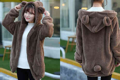 MBLogic - Cartoon Plush Coat With Ears And Tail - Save 78%