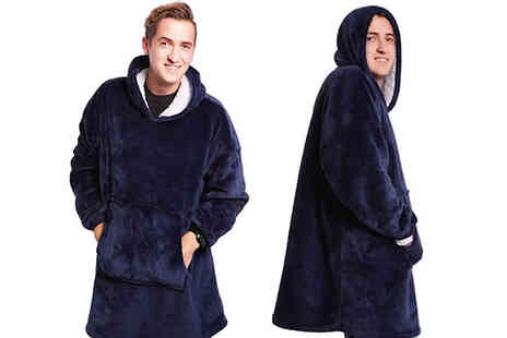 Magic Trend - Hooded Snuggle Blanket - Save 70%