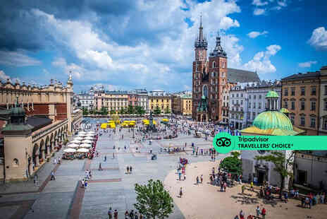Fly Trip Travel - A Krakow, Poland stay with Auschwitz tour and return flights - Save 28%
