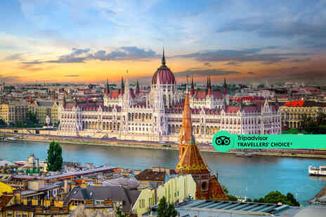 Fly Trip Travel - Budapest, Hungary hotel stay with return flights - Save 39%