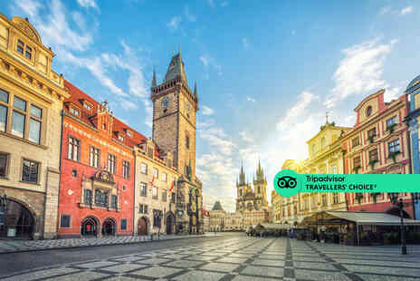 Fly Trip Travel - A Prague, Czech Republic hotel stay with breakfast - Save 26%