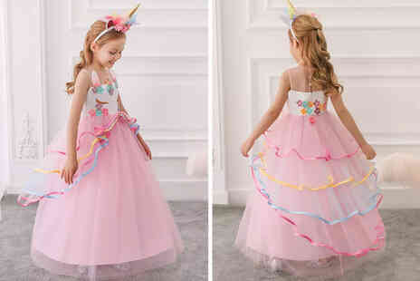 I Nod - Childrens princess unicorn dress - Save 0%