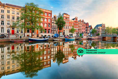 Fly Trip Travel - Amsterdam, Netherlands hotel stay with return flights from five airports - Save 44%