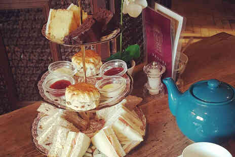 Brooks Guesthouse Bristol - Afternoon tea for two people with a glass of Prosecco each - Save 42%