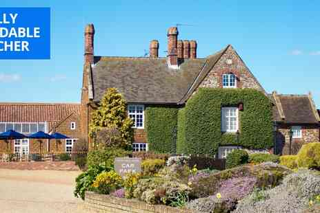 Caley Hall Hotel - North Norfolk coast break including cream tea - Save 39%