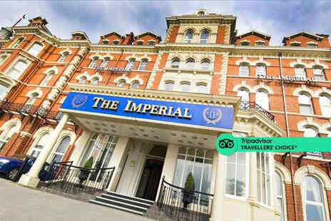 The Imperial Hotel Blackpool - A Blackpool hotel stay for two people with breakfast - Save 44%