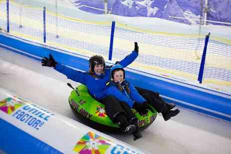Chill Factore - 45 minute Snow Park pass for two people - Save 74%