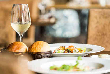 Townhouse Hotel Manchester - Two course dining for two people with a glass of Prosecco each - Save 38%